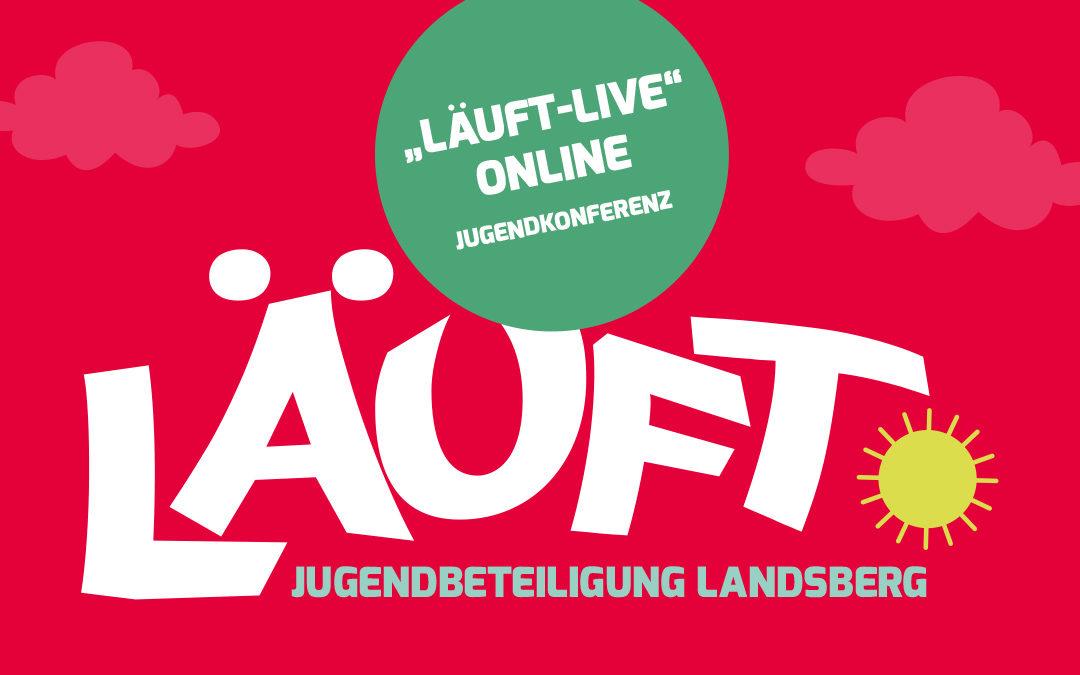 """""""Läuft-Live"""" Online-Jugendkonferenz"""